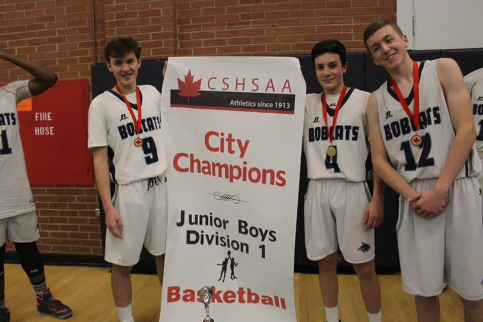 DIV 1 JR Boys City Championship